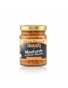 Moutarde au piment d'Espelette 100 g