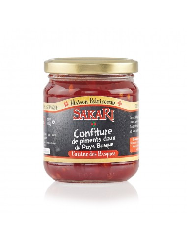 Confiture de piments du Pays Basque 220 g
