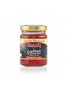Confiture de piments doux du Pays Basque 100 g