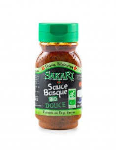 Sauce Basque Sakari douce BIO 25 cl