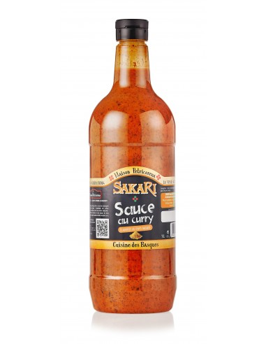 Sauce Basque Sakari au curry  1 litre
