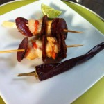 brochette chorizo saint jacques