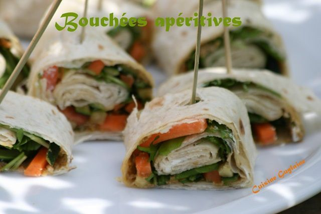 wraps tapenade