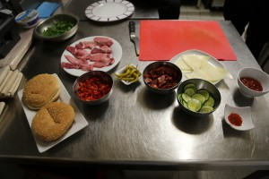 ingredients burger basque