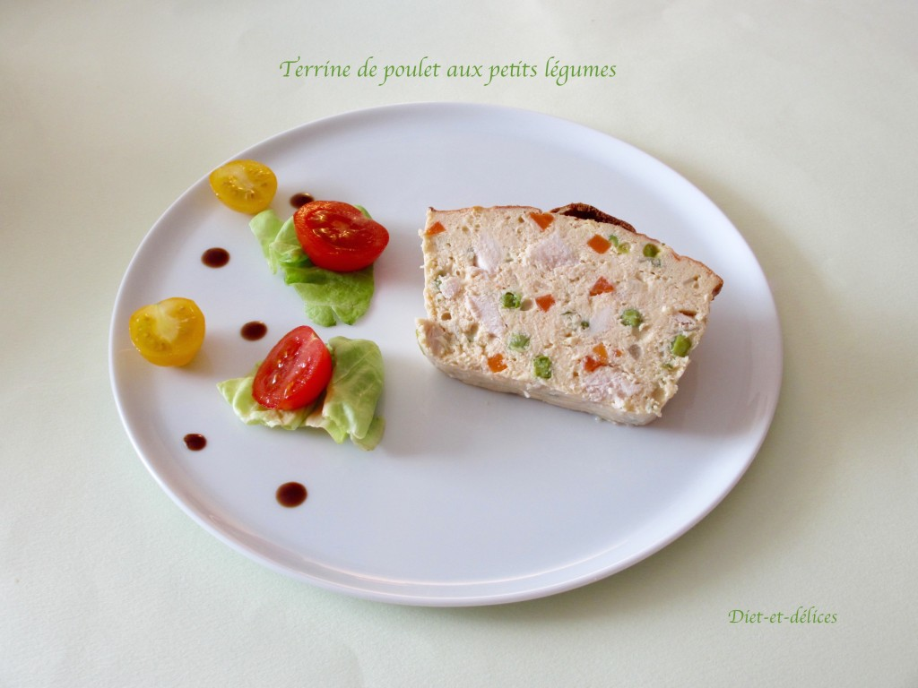 terrine poulet piment basque doux