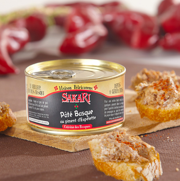 pate Basque au piment d'Espelette